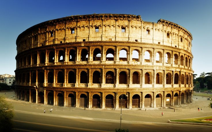 Amphitheatre Colosseum in Rome